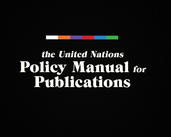 UN Publications and Policy Manual